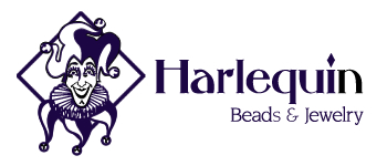 Harlequin Beads and Jewelry