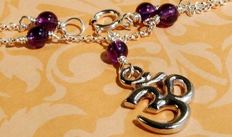 Image Charming Om Necklace