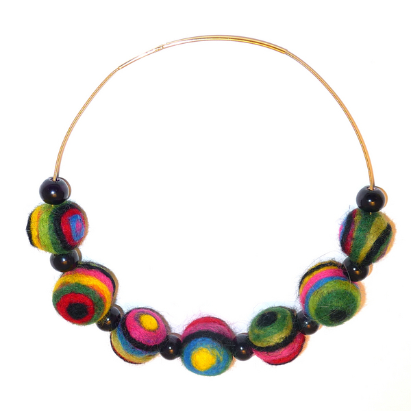 Eye Bead Necklace | Shared Designs