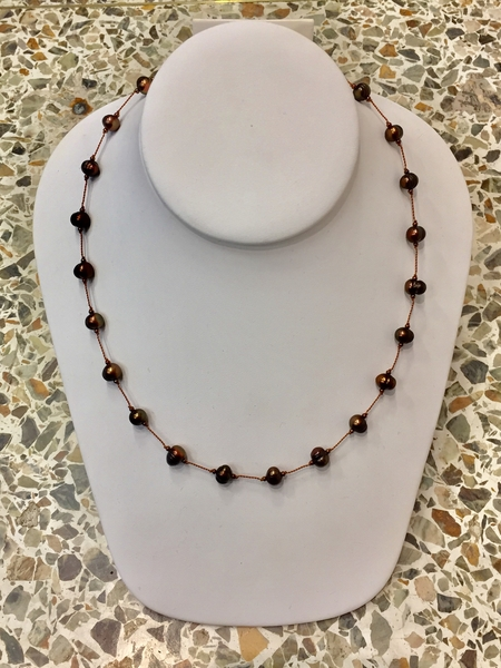 Floating Bead Necklace | Beading Classes