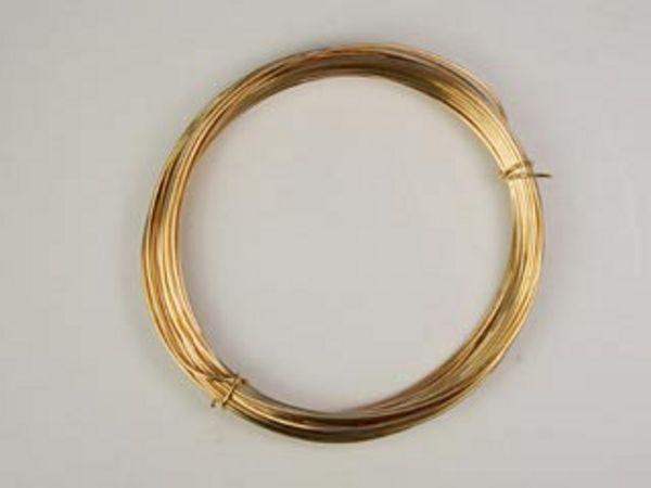 22 gauge round 14kt goldfill half hard metal wire for 22 gauge craft wire