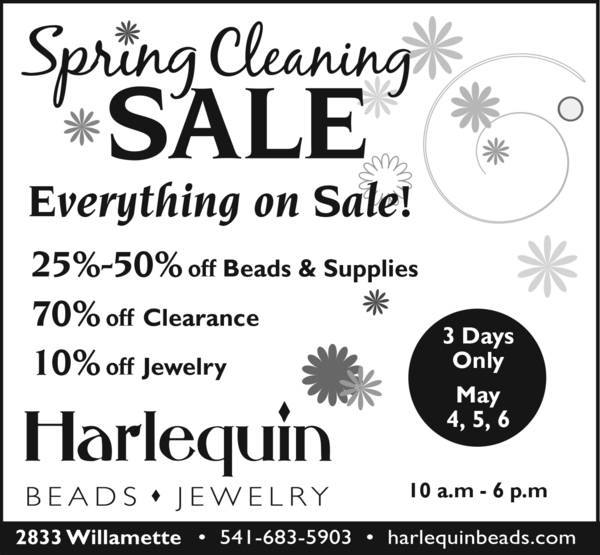 3-day Spring Store-wide Sale | Events Calendar