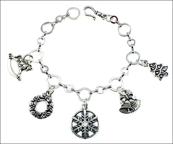 Image Charming Christmas Bracelet