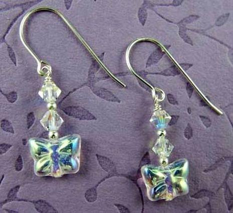 Image Dancing Butterfly Earrings