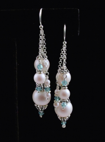 ddcde24e84ff1 Swarovski Pearlescent White Earrings | Earrings