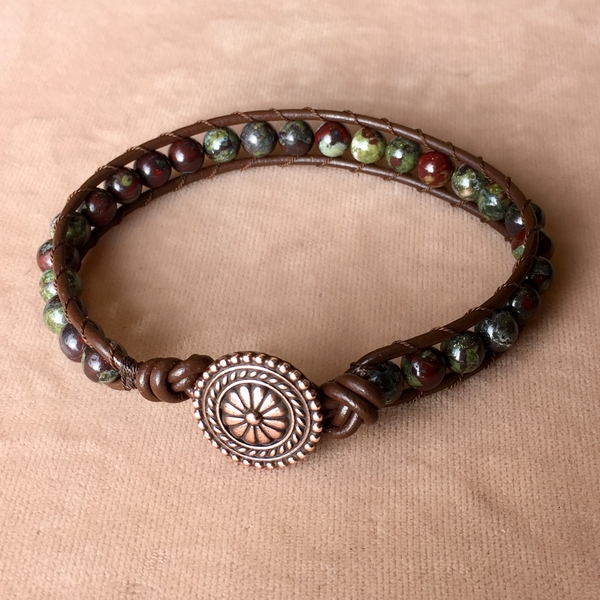 Leather Wrap Bracelet | Beading Classes