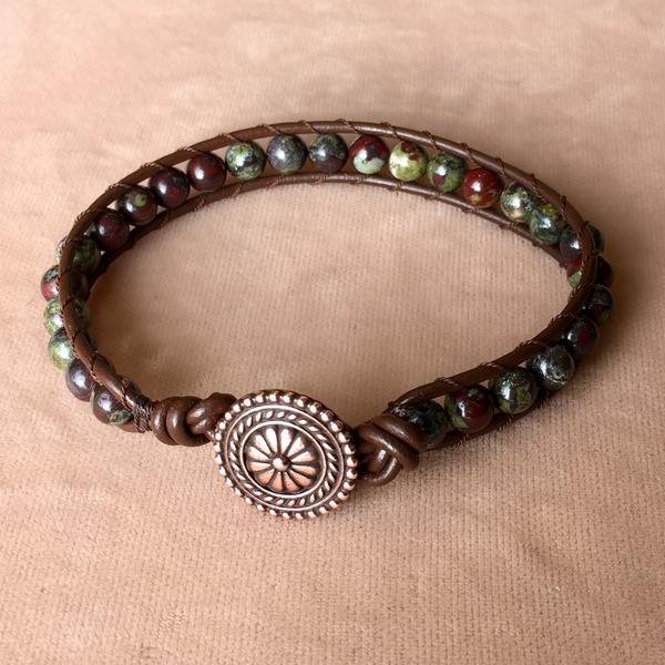 Leather Wrap Bracelet | Beading Classes