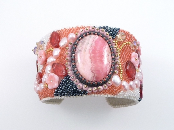 Rhodochrosite Cuff | Shared Designs