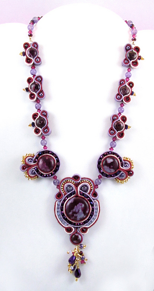 Purple Passion Necklace | Shared Designs