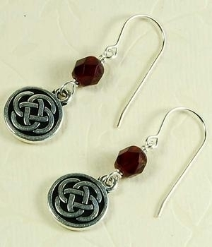 Simple Celtic Charm Earrings Jewelry Design Ideas