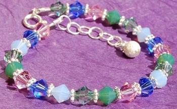 Monet's Garden Bracelet   Jewelry Design Ideas