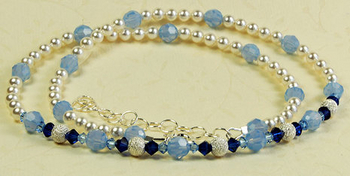 Air Blue Opal Necklace | Jewelry Design Ideas