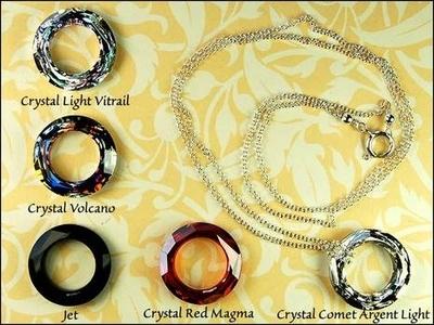 Larks Head Cosmic Ring Necklace | Jewelry Design Ideas