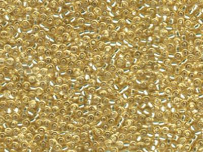 Japanese Miyuki Glass Seed Bead Size 11 - Pale Gold - Silver Lined