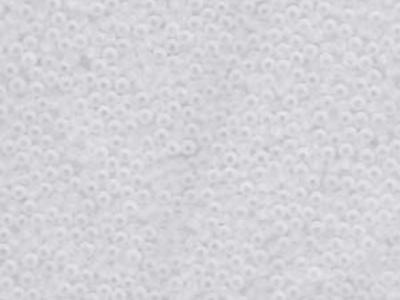 Japanese Miyuki Glass Seed Bead Size 11 - Crystal - Transparent Matte Finish