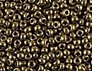 Japanese Miyuki Glass Seed Bead Size 11 - Light Bronze - Metallic Finish
