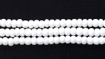 Czech Glass Seed Bead Size 11 - Chalk White - Opaque Finish