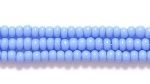 Czech Glass Seed Bead Size 11 - Powder Blue - Opaque Finish