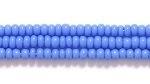 Czech Glass Seed Bead Size 11 - Light Blue - Opaque Finish