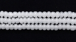 Czech Glass Seed Bead Size 11 - Opal White - Opaque Finish