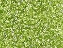Japanese Miyuki Glass Seed Bead Size 15 - Chartreuse - Silver Lined