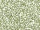 Japanese Miyuki Glass Seed Bead Size 15 - Sparkle Celery - Color Lined