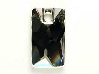 Swarovski Crystal 17x9.5mm Pendular Lochrose Pendant 3500 - Crystal - Clear - Transparent Finish