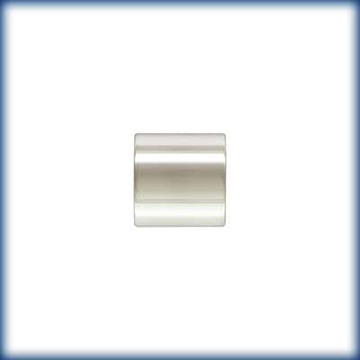 sterling silver 4 x 4mm tube for cording crimp bead silver | crimp bead
