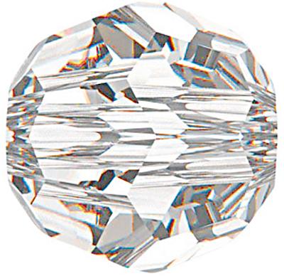Swarovski Crystal 10mm Round Bead 5000 - Crystal - Clear - Transparent Finish