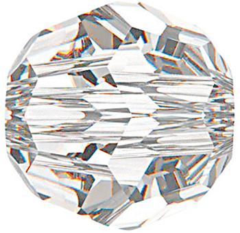 Swarovski Crystal 4mm Round Bead 5000 - Crystal - Clear - Transparent Finish