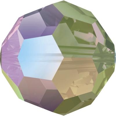 Swarovski 8mm Crystal Paradise Shine Round Bead 5000 Transparent with Finish