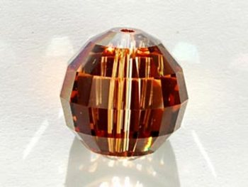 Swarovski Crystal Beads 16mm chessboard (5005) crystal copper transparent iridescent | chessboard (5005)