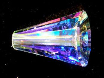 Swarovski Crystal 17mm Artemis Bead 5540 - Crystal AB - Clear - Transparent Iridescent Finish