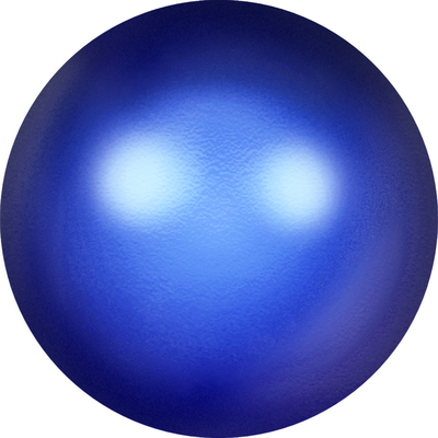 Swarovski Pearl Beads 10mm round pearl (5810) iridescent dark blue pearlescent | Swarovski Pearl Beads