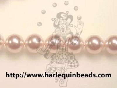 Swarovski Pearl Beads 2mm round pearl (5810) rosaline (pale pink) pearlescent | Swarovski Pearl Beads