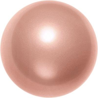 Swarovski Pearl Beads 2mm round pearl (5810) rose peach pearlescent | Swarovski Pearl Beads