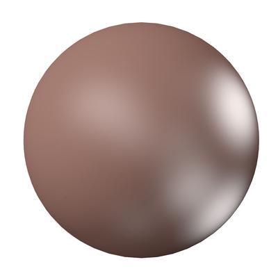 Swarovski Pearl Beads 2mm round pearl (5810) velvet brown pearlescent | Swarovski Pearl Beads