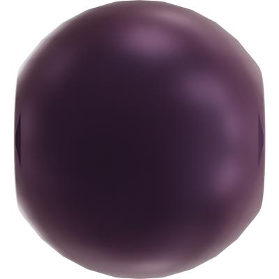 Swarovski Pearl Beads 3mm round pearl (5810) elderberry pearlescent | Swarovski Pearl Beads