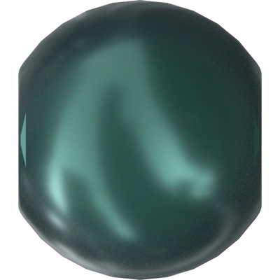 Swarovski Pearl Beads 3mm round pearl (5810) iridescent tahitian pearlescent | Swarovski Pearl Beads