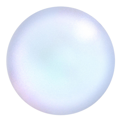 Swarovski Pearl Beads 6mm round pearl (5810) iridescent dreamy blue pearlescent | Swarovski Pearl Beads