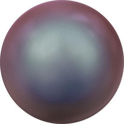 Swarovski Pearl Beads 6mm round pearl (5810) iridescent red pearlescent | Swarovski Pearl Beads