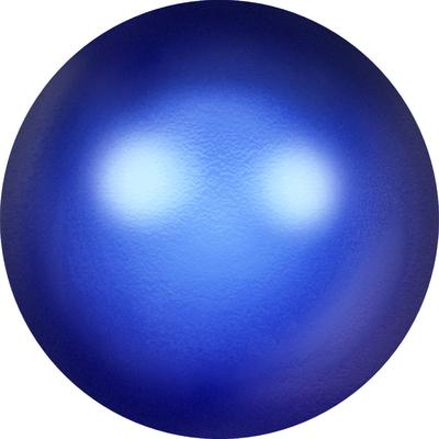 Swarovski Pearl Beads 8mm round pearl (5810) iridescent dark blue pearlescent | Swarovski Pearl Beads