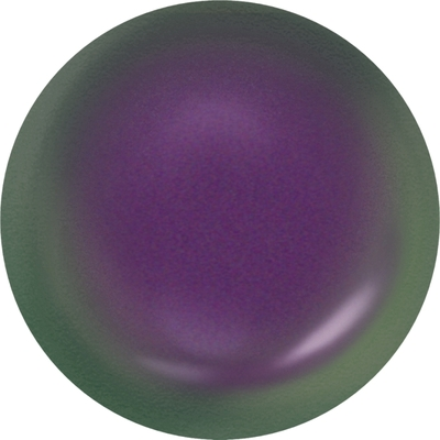 Swarovski 8mm Crystal Iridescent Purple Pearlescent Round Pearl | Faux Glass Pearls