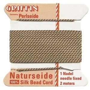 size #6 beige Griffin Silk | Griffin Silk