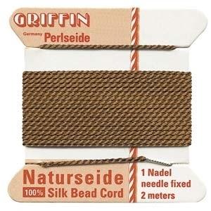 size #8 brown  Griffin Silk   Griffin Silk