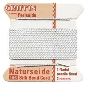 size #8 white Griffin Silk | Griffin Silk