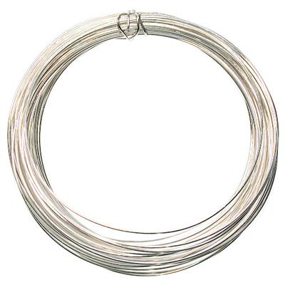 Gauge Round German Silver Metal Wire - Half Hard with Copper Core ...