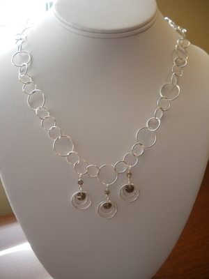 Image Circles-on-Circles Necklace