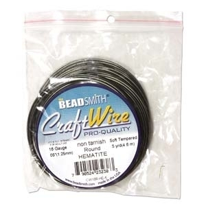 16 Gauge Round Vintage Bronze Metal Wire   Metal Wire for Wire-twisting and Wire-wrapping Jewelry and Crafts
