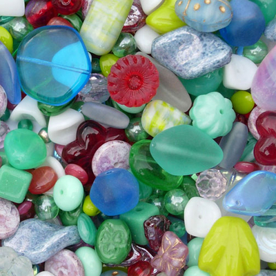 Morning Dew Czech Bead Mix | Czech Bead Mixes